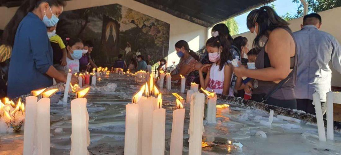 El monseñor Gualberti celebró la misa hoy en Cotoca
