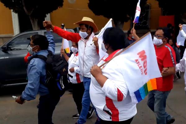 Exsenador Edwin Rodríguez es proclamado como candidato a la gobernación Potosina