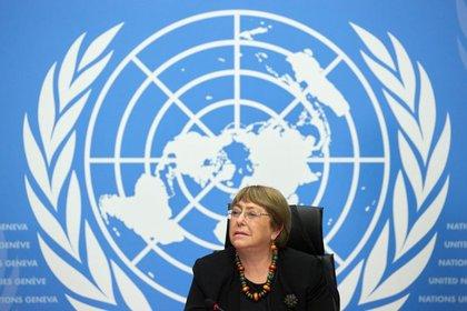 La oficina de Michelle Bachelet denunció violaciones a los derechos humanos en Venezuela en su informe de 2019 (REUTERS/Denis Balibouse)