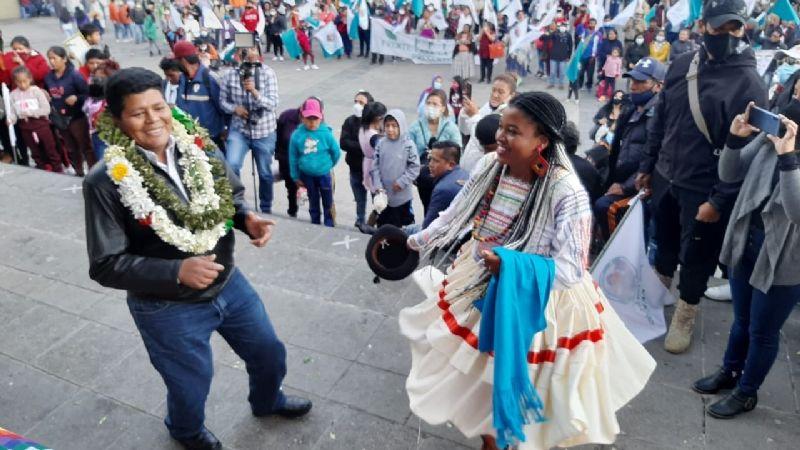 Franclin Gutiérrez es proclamado como candidato a gobernador por FPV