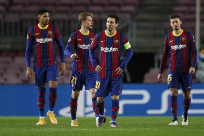 El Barcelona ganó en su último partido de liga contra el Levante (Reuters)