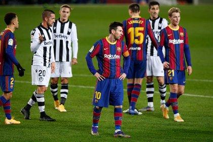 Pese a la victoria, los rivales notaron a un Barcelona sin feeling -REUTERS/Albert Gea