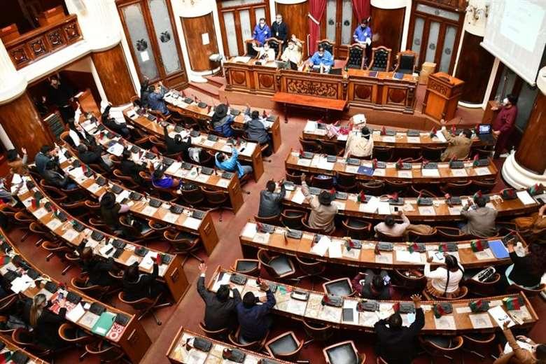 La Cámara de Diputados sesionó este martes.