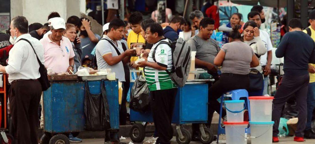 Aglomeraciones y relajamiento de medidas, faceta común en la ciudad. Foto: Jorge Gutiérrez