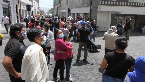 Arequipa: teatro y portal municipal resultan dañados tras sismo de magnitud 5.5 (Foto: Captura de video)