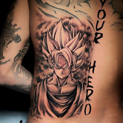Impresionante tatuaje de Neymar realizado por Boby Tattoo (@boby_tattoo)