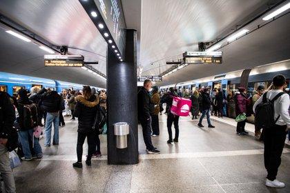 Estación central de Estocolmo (Reuters)