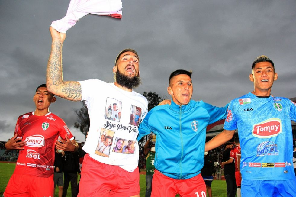 Real Tomayapo hace historia al ascender al fútbol profesional boliviano