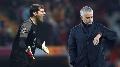 Casillas y Mourinho mantuvieron una conflictiva relación mientras coincidieron en Real Madrdi