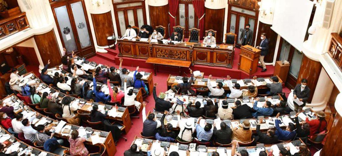 La sesión en el Legislativo I Diputados.