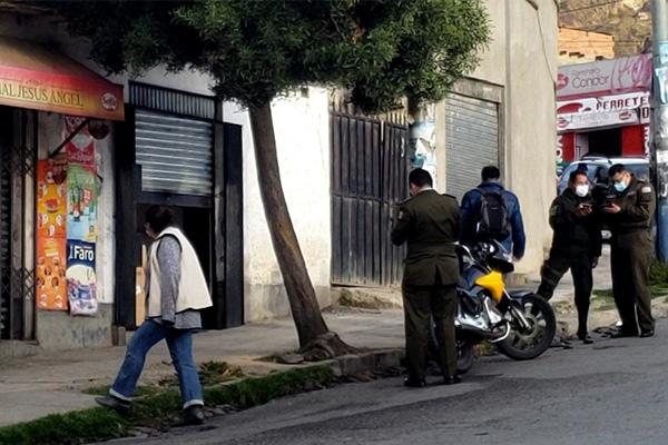 Asalto a carnicería en la zona sur Foto: John Arandia Periodista