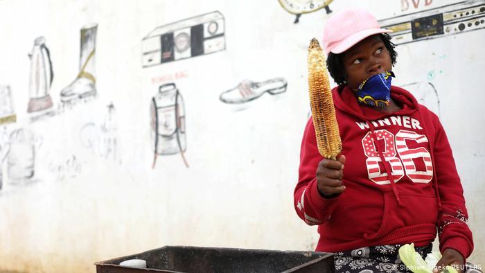Südafrika Corona-Pandemie Johannesburg