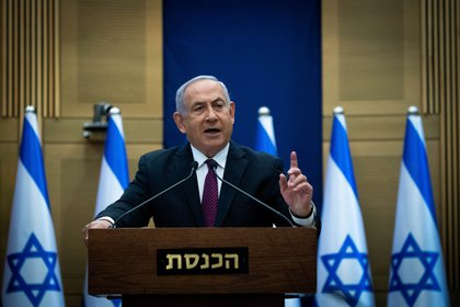 El primer ministro israelí, Benjamín Netanyahu (EFE)
