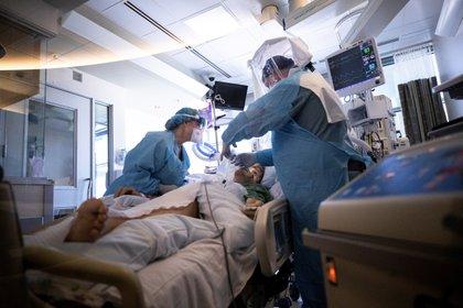 El foco principal de la pandemia en la zona sigue siendo Los Ángeles, donde los casos positivos han alcanzado los 29,464 diagnosticados. (Foto: EFE/Etiene Laurent)