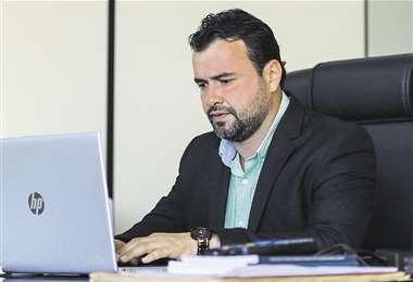"""Olvis Égüez: """"Nunca hubo nivel de coordinación con el Consejo de la Magistratura""""   EL DEBER"""