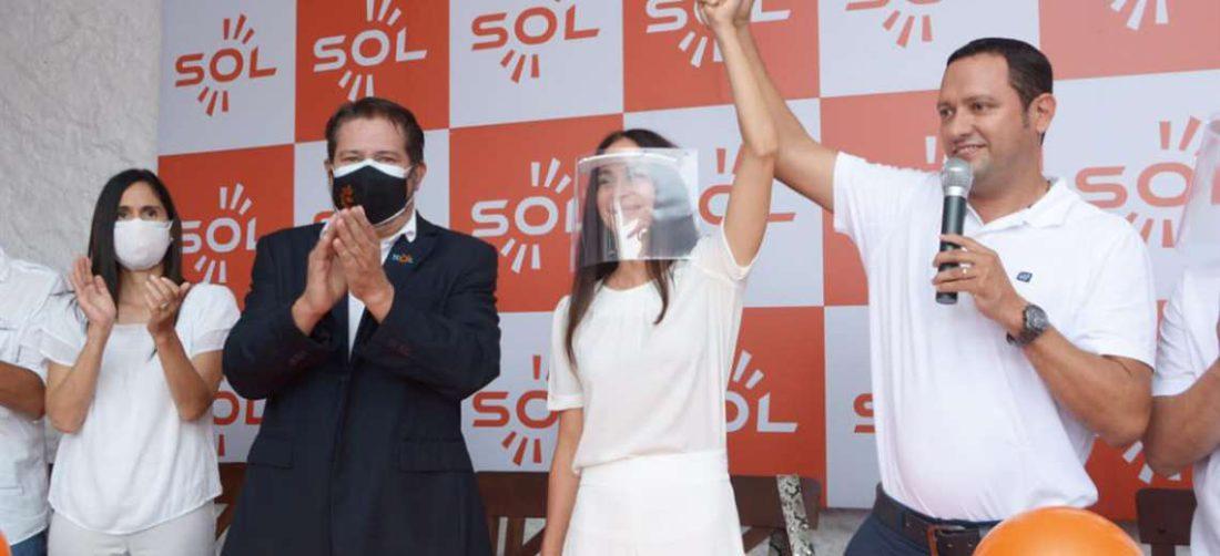 Agrupación Sol presenta su candidata a Vicegobernadora