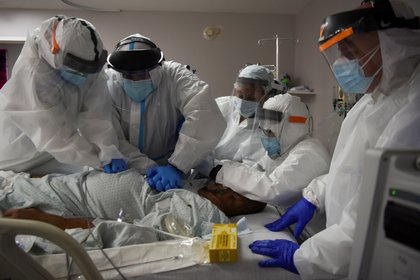 Cuidados intensivos en un hospital de Houston, Texas (Reuters)