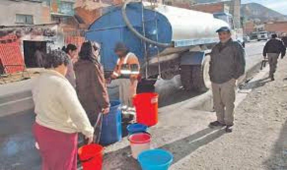 Por elevada turbiedad se cortará hoy el servicio de agua en barrios de Tarija