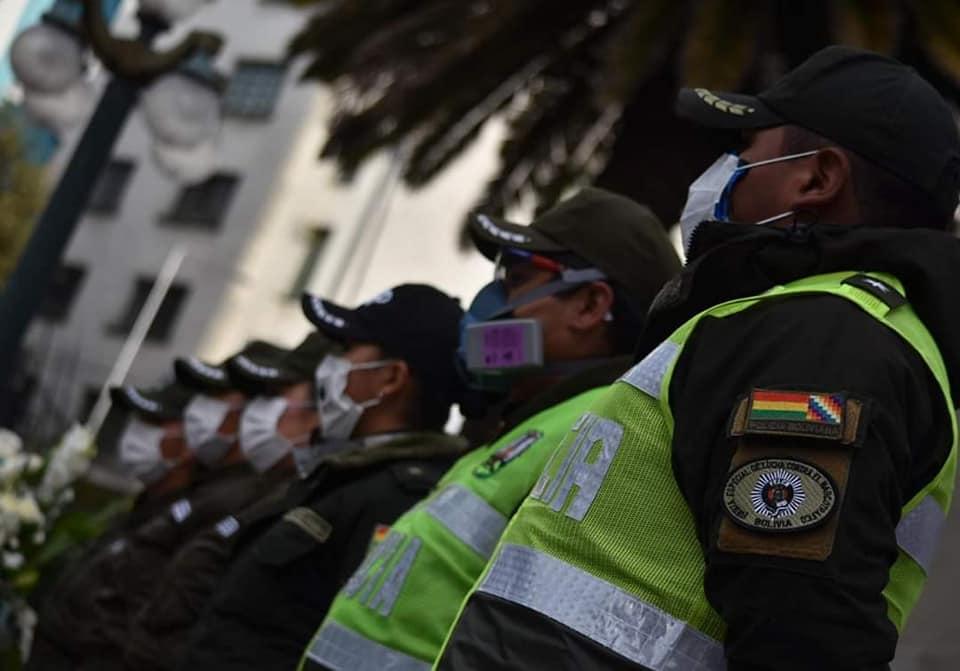 Policía Boliviana Foto: Policía Boliviana Para Todos