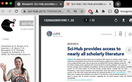 Sci Hub Extension