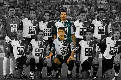 Cristiano Ronaldo y el chileno Pablo Contreras fueron compañeros en el Sporting de Lisboa.