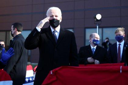 El presidente electo, Joe Biden. REUTERS/Tom Brenner