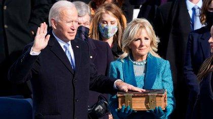 Joe Biden dio su discurso inaugural