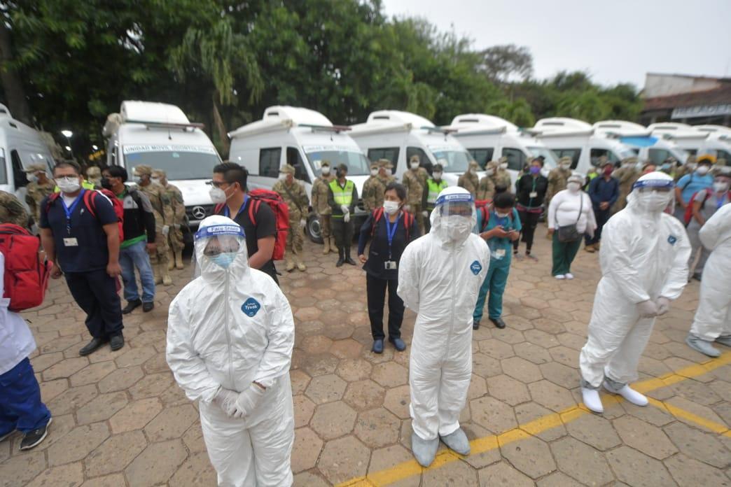 Brigadas médicas en Trinidad