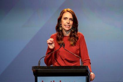 La primera ministra de Nueva Zelanda, Jacinda Ardern. EFE/EPA/DAVID ROWLAND/Archivo
