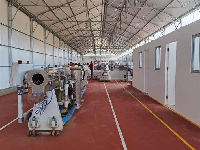 Instalaciones de la fábrica de tubos para riego tecnificado