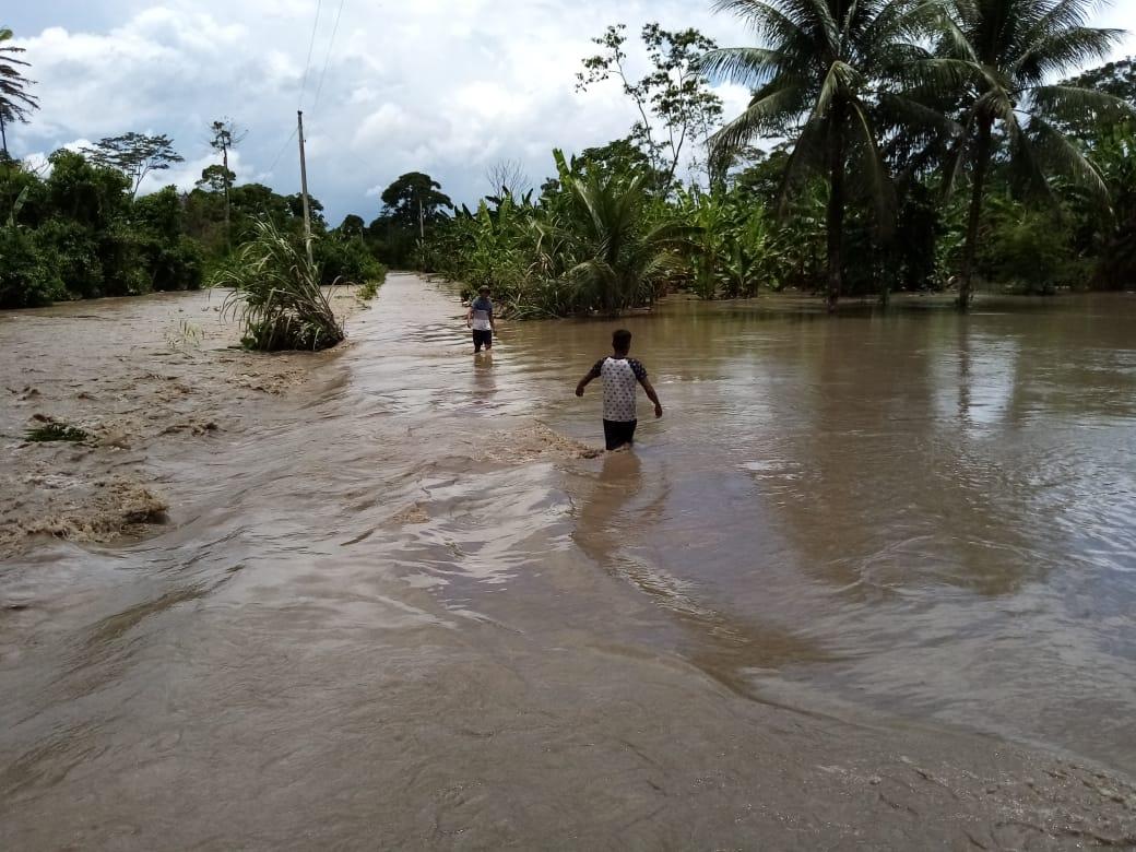 Desborde de ríos en Beni Foto: ABI