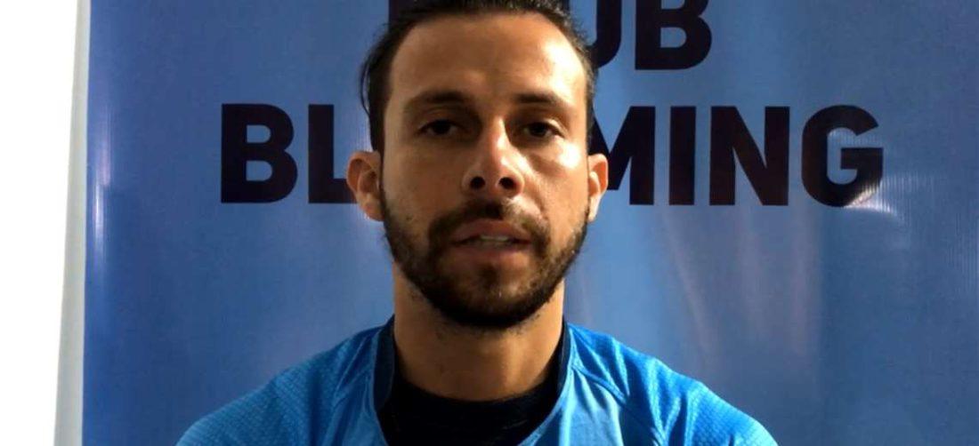 Ribera fue presentado en Blooming. Foto: Captura video