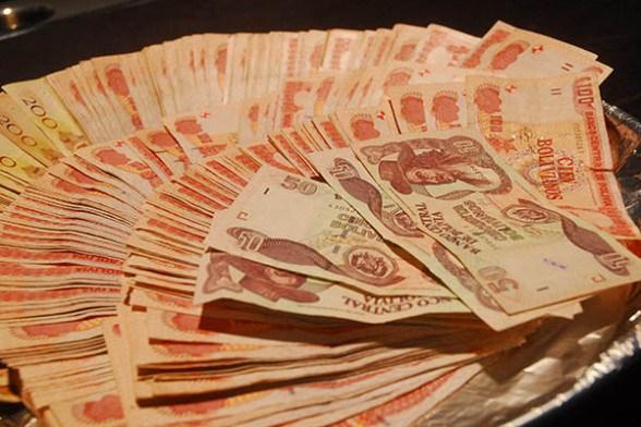 Dinero boliviano/Imagen ilustrativa/