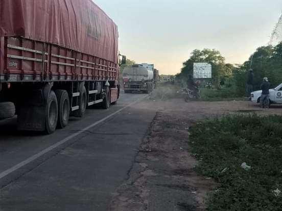 La ruta a Yacuiba fue desbloqueada