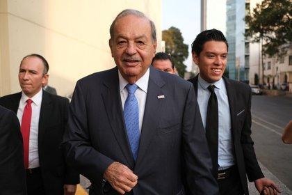 El ingeniero Carlos Slim Helú salió del hospital el pasado 28 de enero (FOTO: GRACIELA LÓPEZ /CUARTOSCURO)