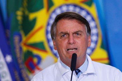 Jair Bolsonaro es muy criticado por su gestión del coronavirus (REUTERS/Adriano Machado)