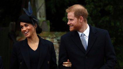 EL hijo de Meghan Markle y el príncipe Harry nació el 6 de mayo de 2019. Archie Harrison es séptimo en la sucesión al trono británico (Reuters)