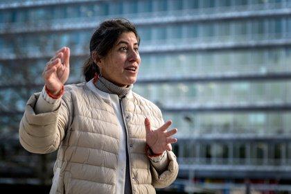 Janet Diaz, investigadora de la OMS (AFP)