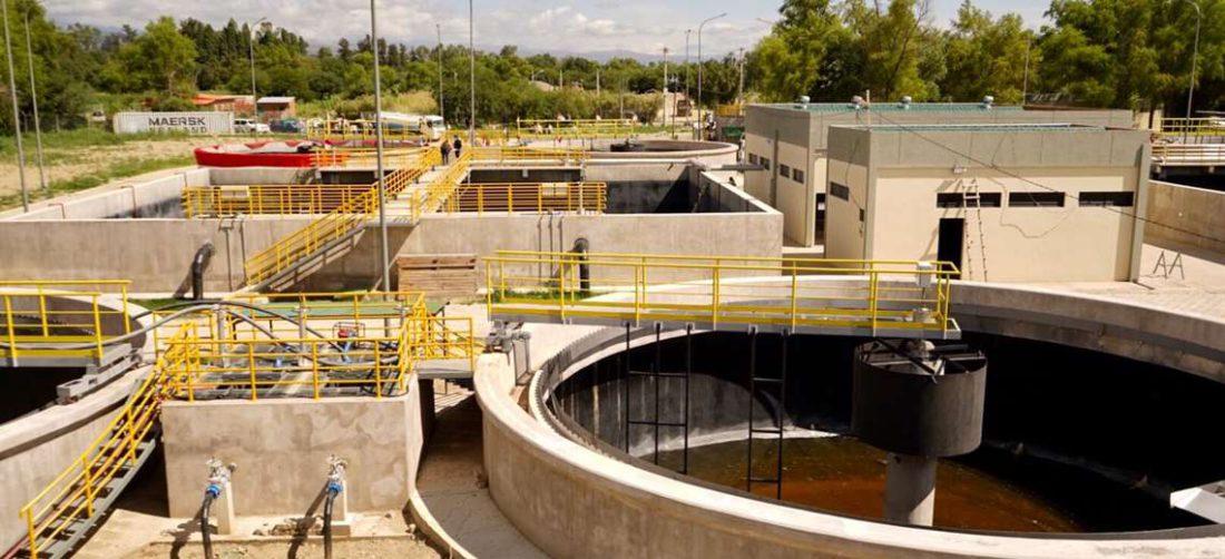 Planta de tratamiento de aguas residuales en Tarija
