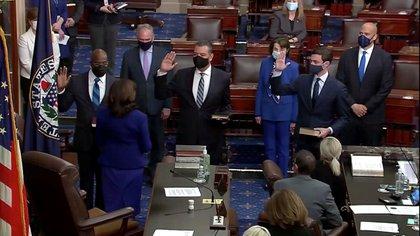 Los demócratas recuperaron el control del Senado, pero si los republicanos se mantienen unidos como oposición, no pueden perder ni un solo voto en sus filas