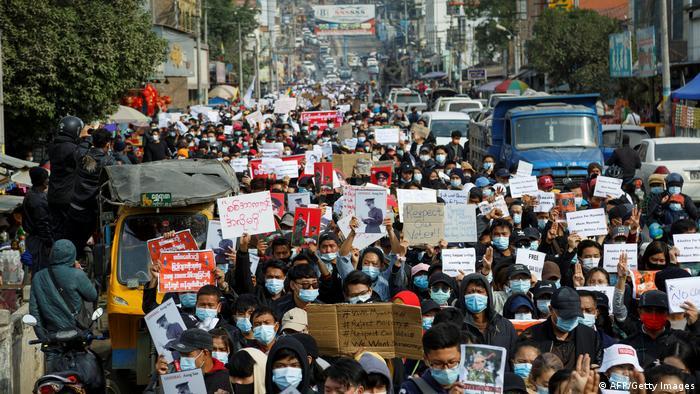 Las protestas han tenido lugar en distintos puntos del país.
