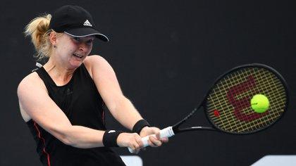 Francesca Jones tiene 20 años y jugará su primer Grand Slam (AFP)