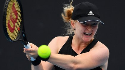 En su última presentación perdió ante Nadia Podoroska (AFP)