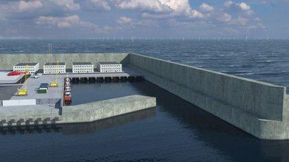 El proyecto es parte del plan de Dinamarca para cesar totalmente la producción de combustibles fósiles en 2050. (Danish Energy Agency)