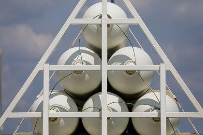 En la isla se podrá hacer hidrógeno verde, al dividir moléculas de agua con corriente eléctrica renovable; también podría ser una fuente de amoníaco como gas para barcos de carga. (Alex Kraus /Bloomberg)