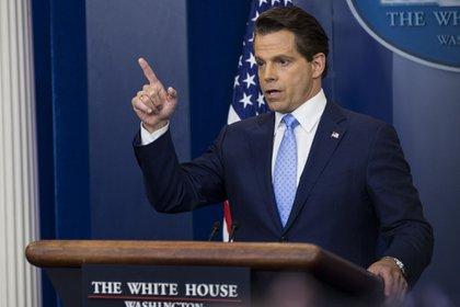 Anthony Scaramucci se desempeñó por un breve lapso de tiempo como director de comunicación de la Casa Blanca durante el gobierno de Donald Trump