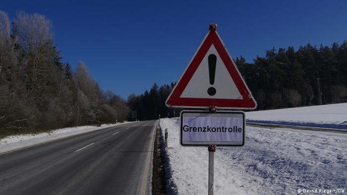 Paso fronterizo entre Alemania y la República Checa, en Schirnding.