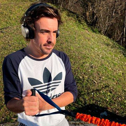 La foto de Fernando Alonso tras el accidente
