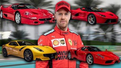 Sebastian Vettel puso en venta las Ferrari de su colección personal.