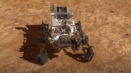 El rover Perseverance llegó al cráter Jezero de Marte este 18 de febrero a las 20.55 UTC, según lo previsto